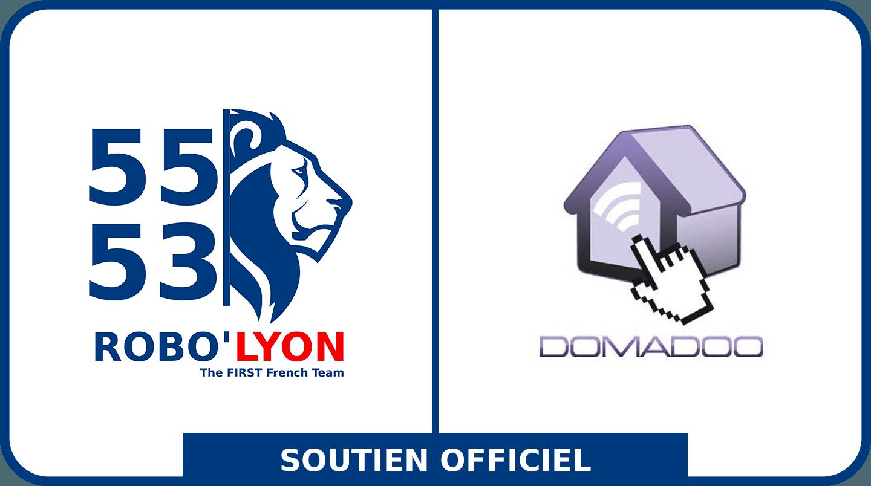 Domadoo est partenaire de Robo'Lyon, première équipe en France à participer à la FRC