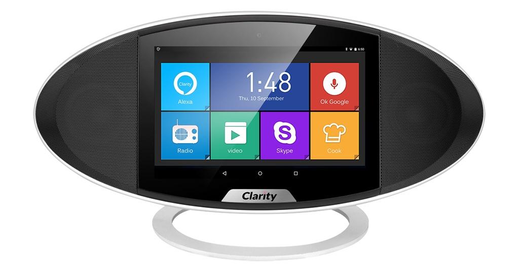 Clarity, une enceinte sous Android avec contrôle vocal