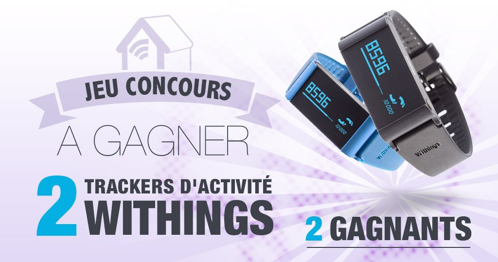 #CONCOURS: 2 bracelets sportifs Withings Pulse Ox à gagner !