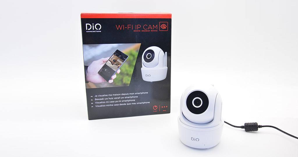 #Test de la caméra intérieure rotative Wi-Fi DiO