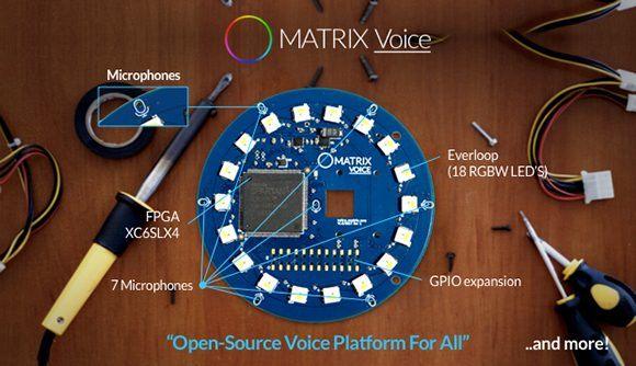 matrix-voice-composant