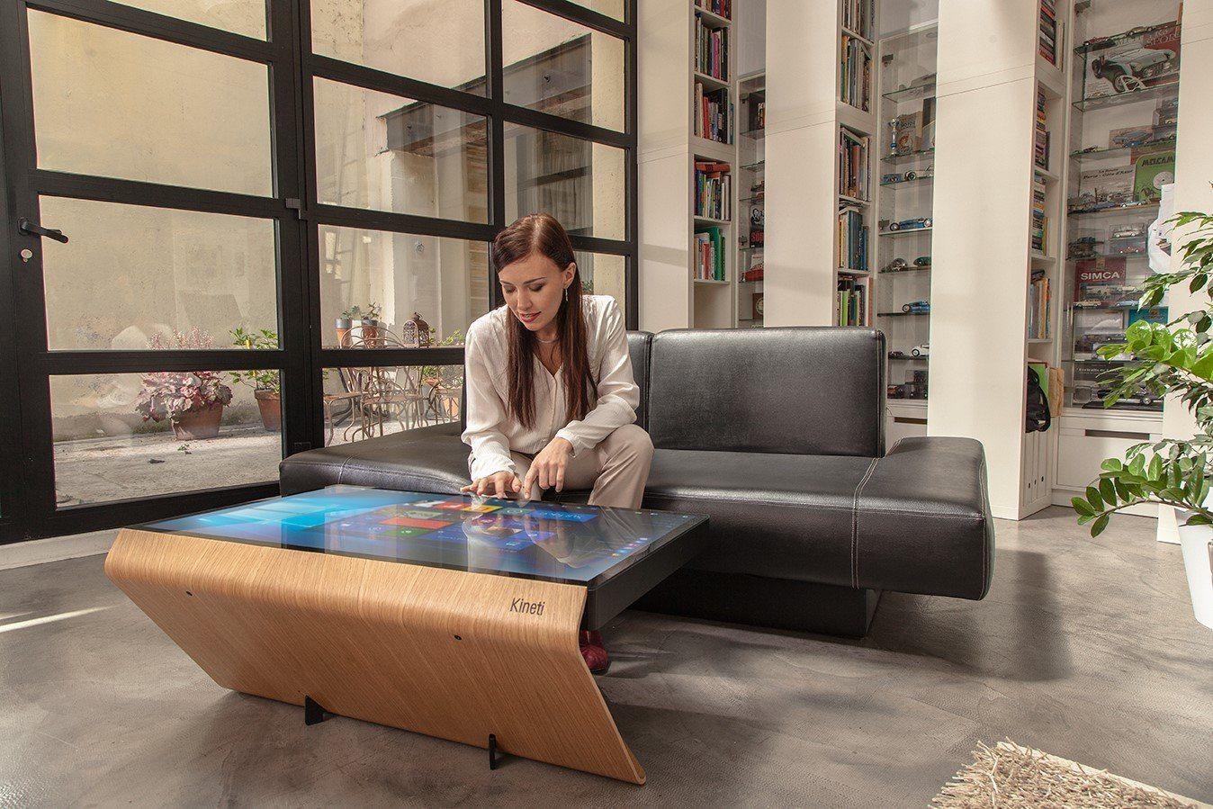 Kineti, la table basse connectée qui pilote la maison