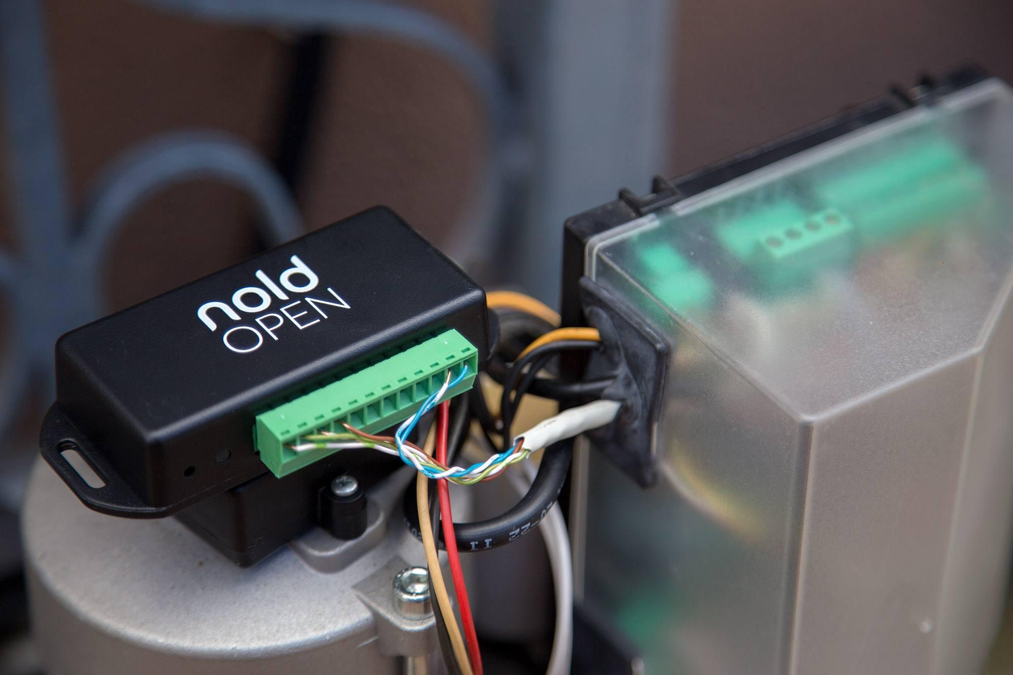 Nold Open: contrôlez votre porte de garage avec votre smartphone !