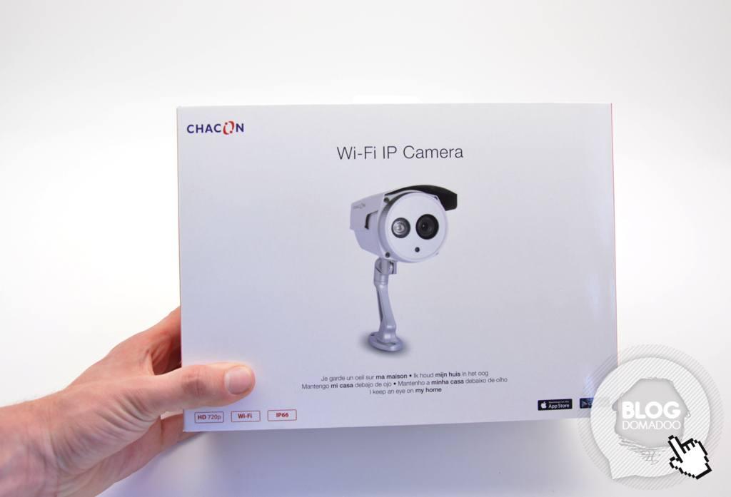 Sécurisez votre maison grâce à la caméra IP WIFI de Chacon 1