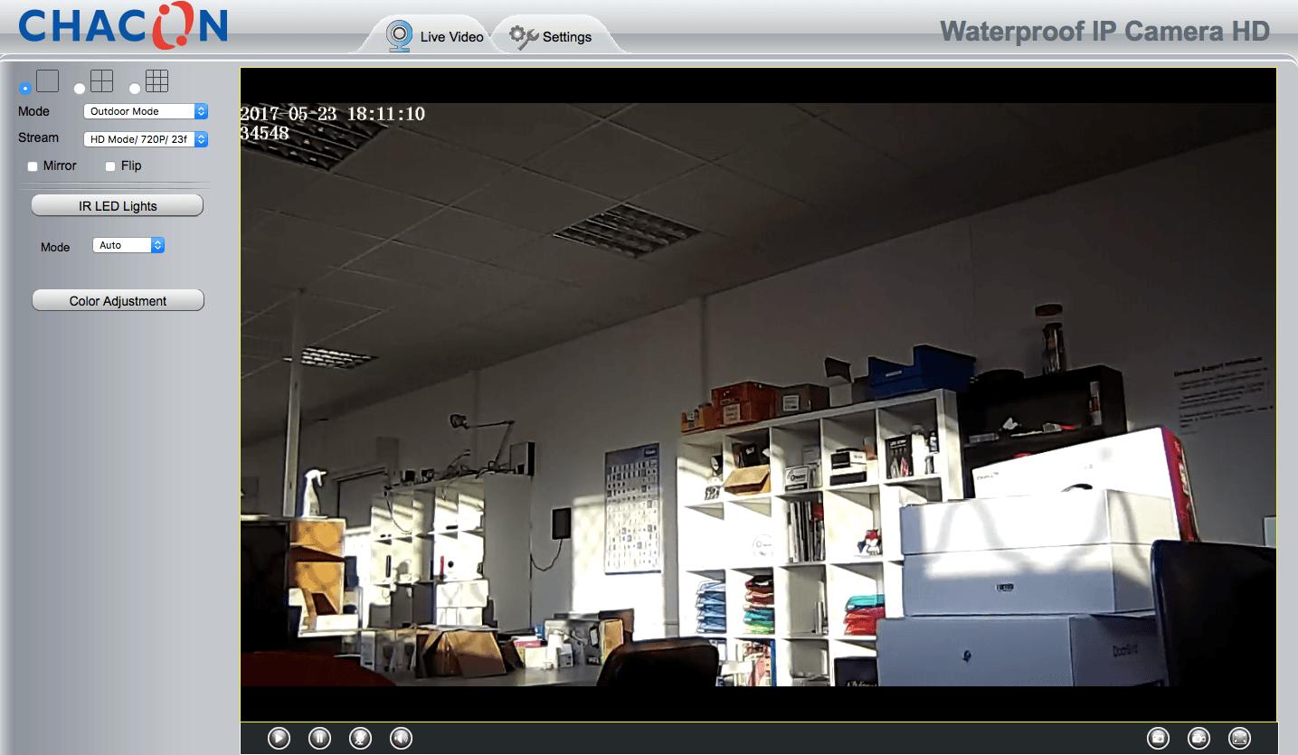 Sécurisez votre maison grâce à la caméra IP WIFI de Chacon 17