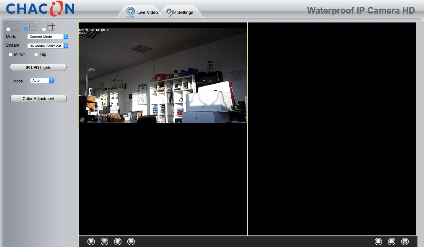 Sécurisez votre maison grâce à la caméra IP WIFI de Chacon 18