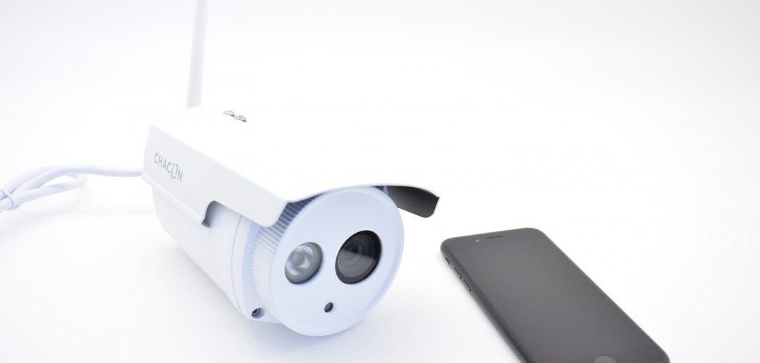 Sécurisez votre maison grâce à la caméra IP WIFI de Chacon couverture