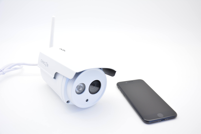 Sécurisez votre maison grâce à la caméra extérieure WIFI de Chacon