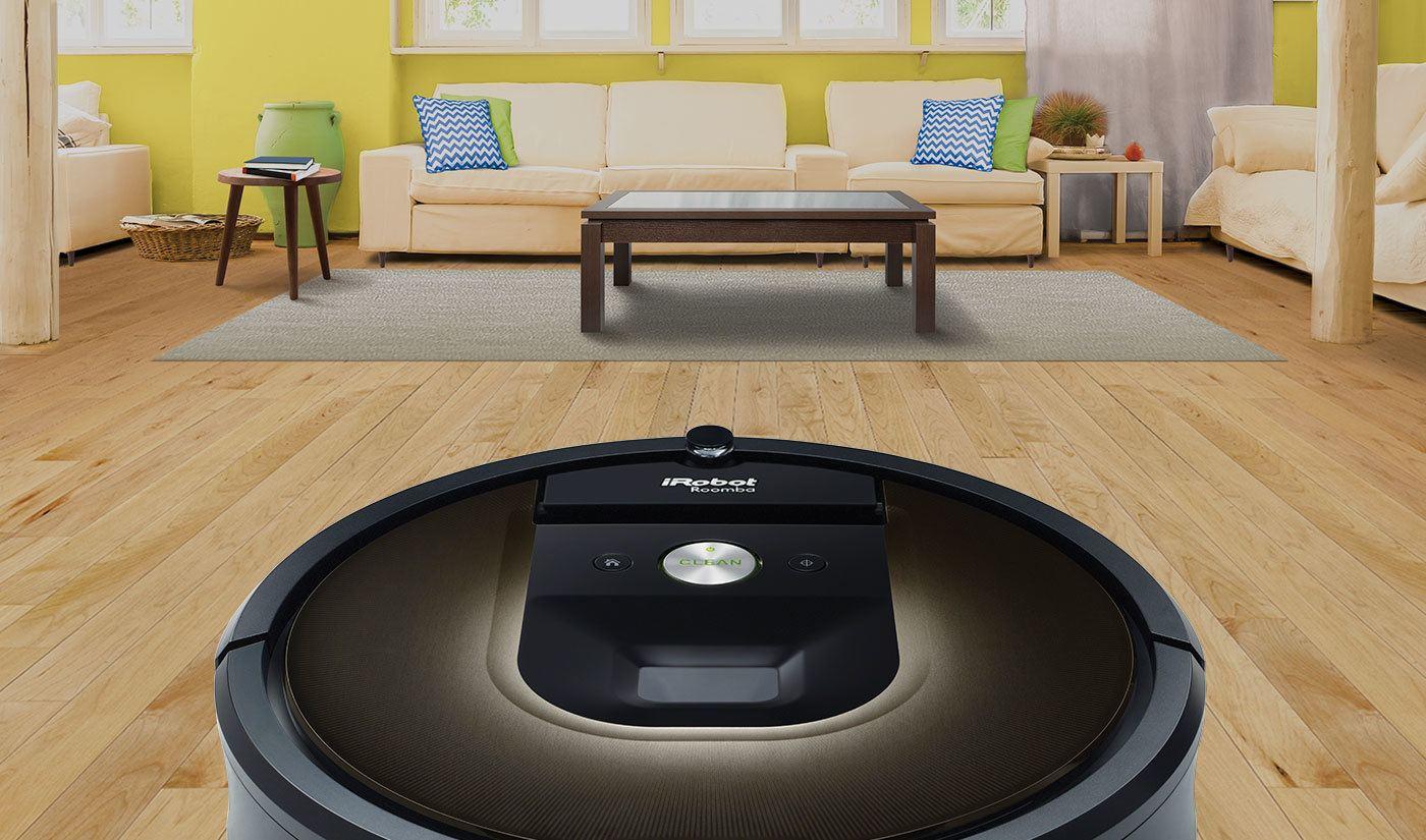 iRobot dévoile sa nouvelle gamme de robots aspirateurs Roomba connectés