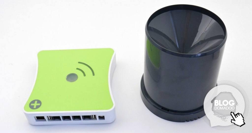 Votre maison et jardin deviennent amis avec la pluie grâce au pluviomètre intelligent Popp !