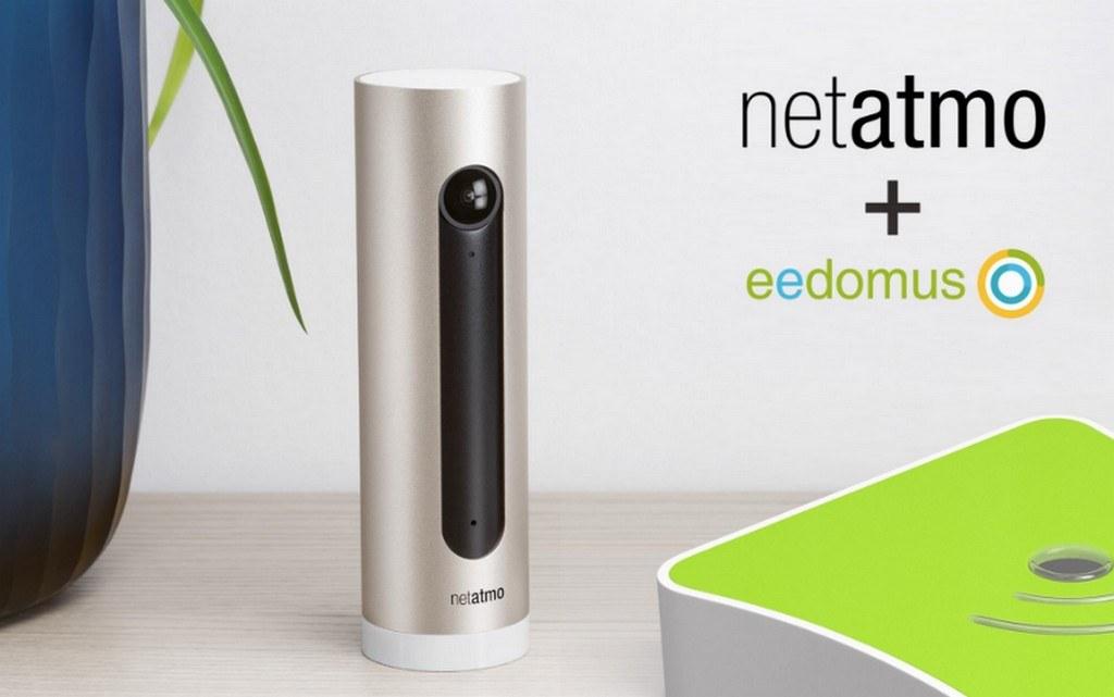 Mise à jour Eedomus : Support des caméras Netatmo et autres nouveautés