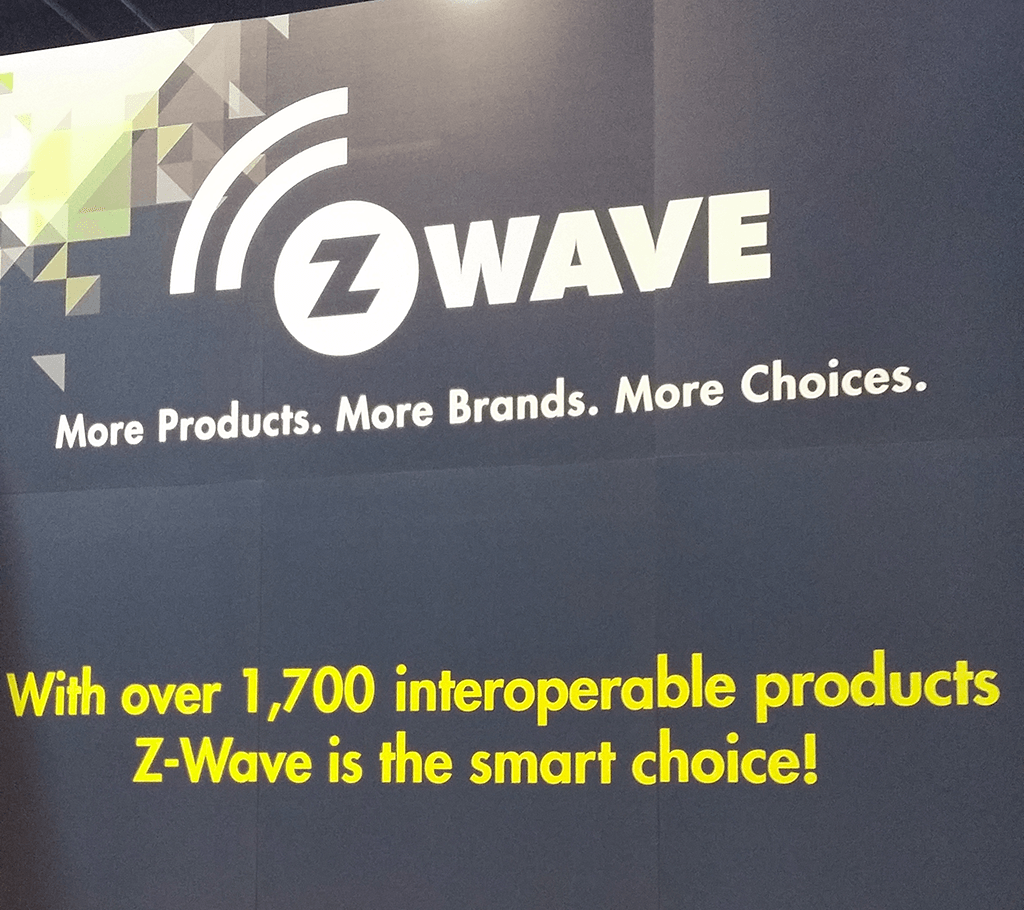 z wave 1700products CES2017