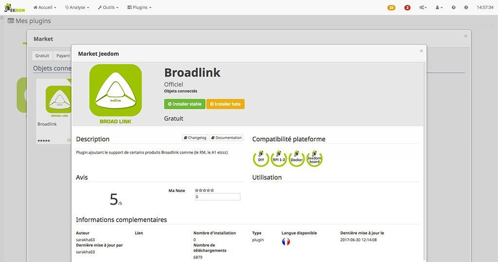 moniteur de qualité d'air Broadlink A1 9