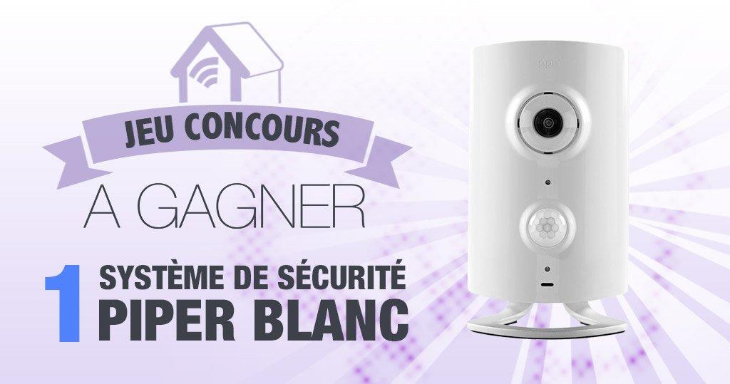 #CONCOURS: Gagnez une caméra connectée Zwave Piper !