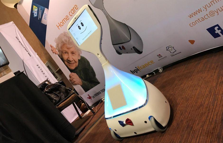 Cutii, le robot compagnon pour les seniors