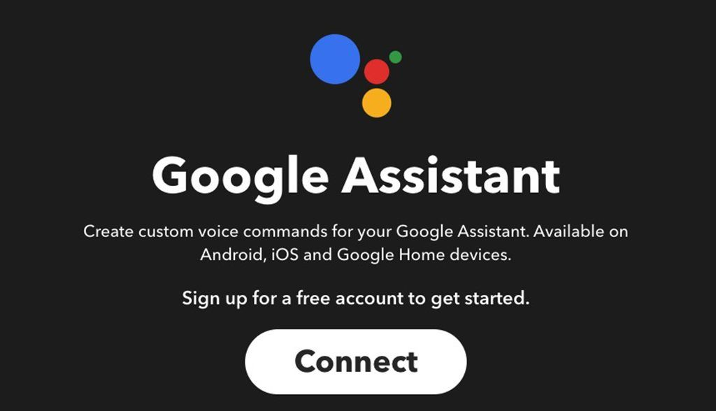 Google Home ifttt