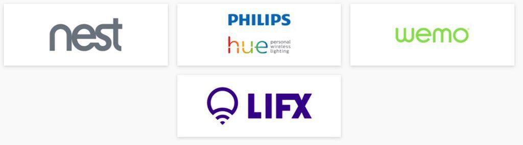 Google Home partenaires