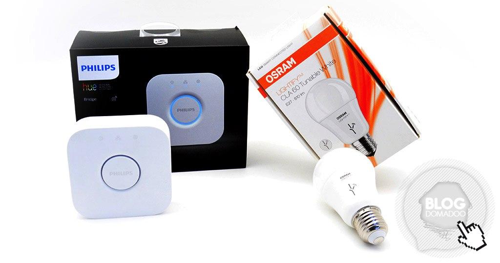 Utilisation d'un produit Osram Lightify avec un pont Philips Hue