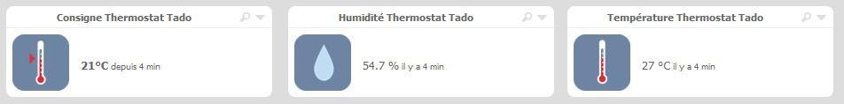 Mise à jour de la box Eedomus : Support du thermostat Tado°, amélioration et corrections techniques.