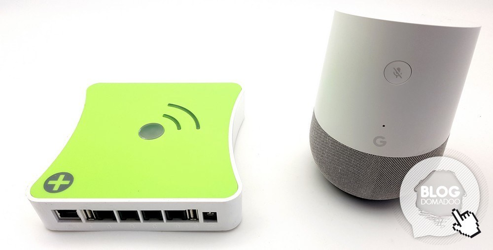 Box domotique Eedomus Plus et assistant vocal Google Home