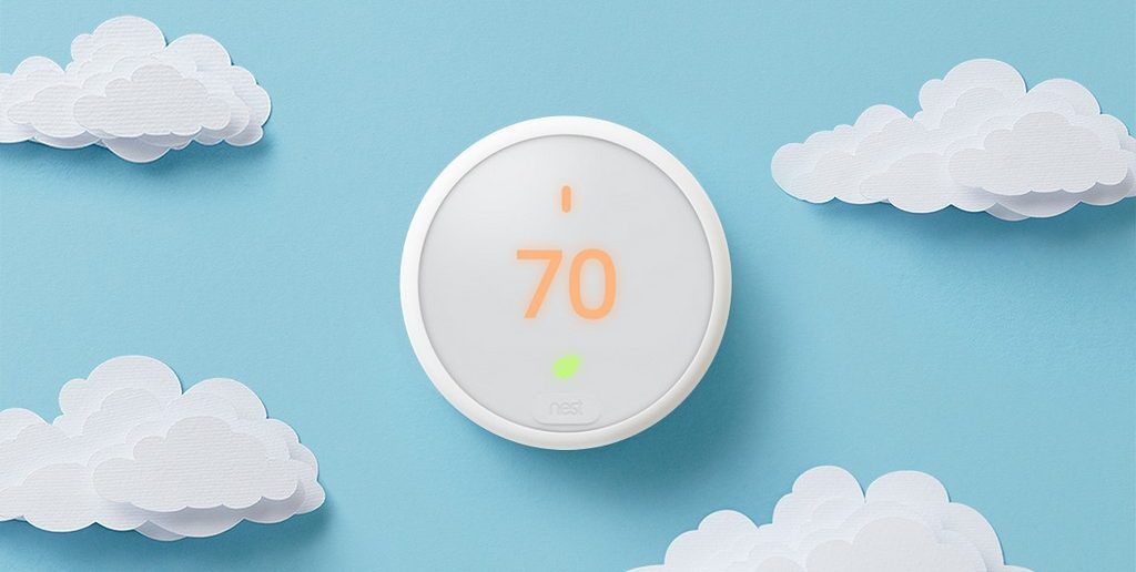 thermostat nest E economique esthetique domotique
