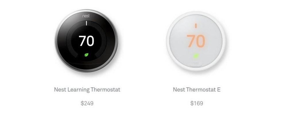 Nest dévoile son nouveau thermostat intitulé E (de Everyone) !