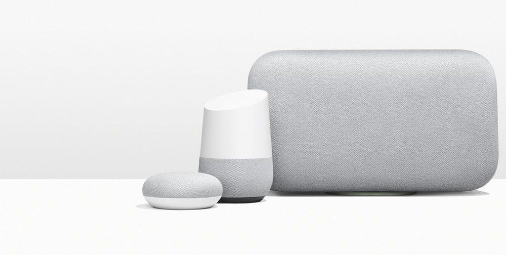 enceintes connectees google home max mini eedomus 3