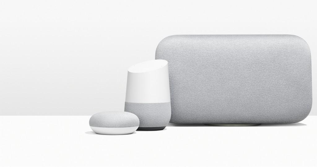 Après Google Home, le géant américain annonce deux nouvelles enceintes connectées : Google Home Mini et Max !