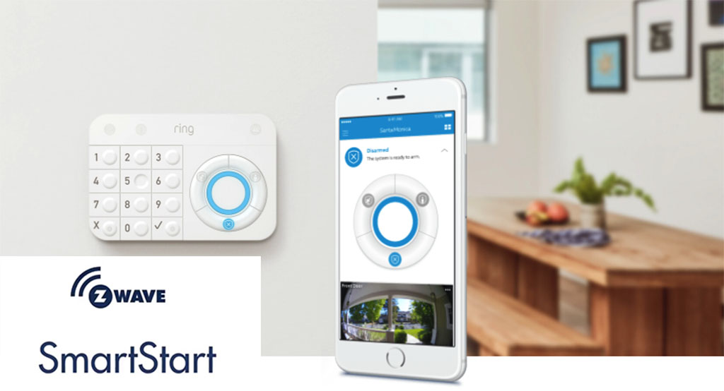 Ring Protect sera le premier système à intégrer la technologie Z-Wave SmartStart