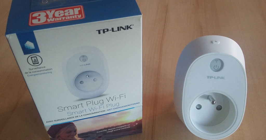 #Test de la prise connectée TP-LINK HS110