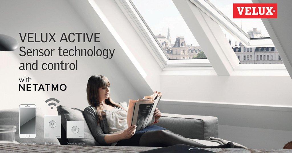La solution VELUX Active with NETATMO récompensée au Mondial du Bâtiment