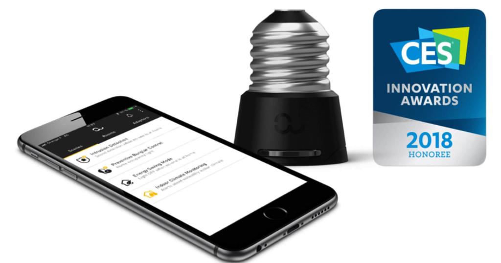 Anyware Smart Adaptor, la micro «box domotique», remporte un CES Innovation Award