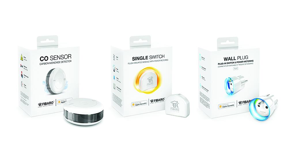 3 nouveaux accessoires HomeKit chez Fibaro