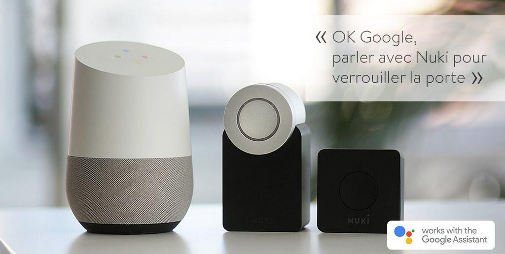 Nuki Google Home fr