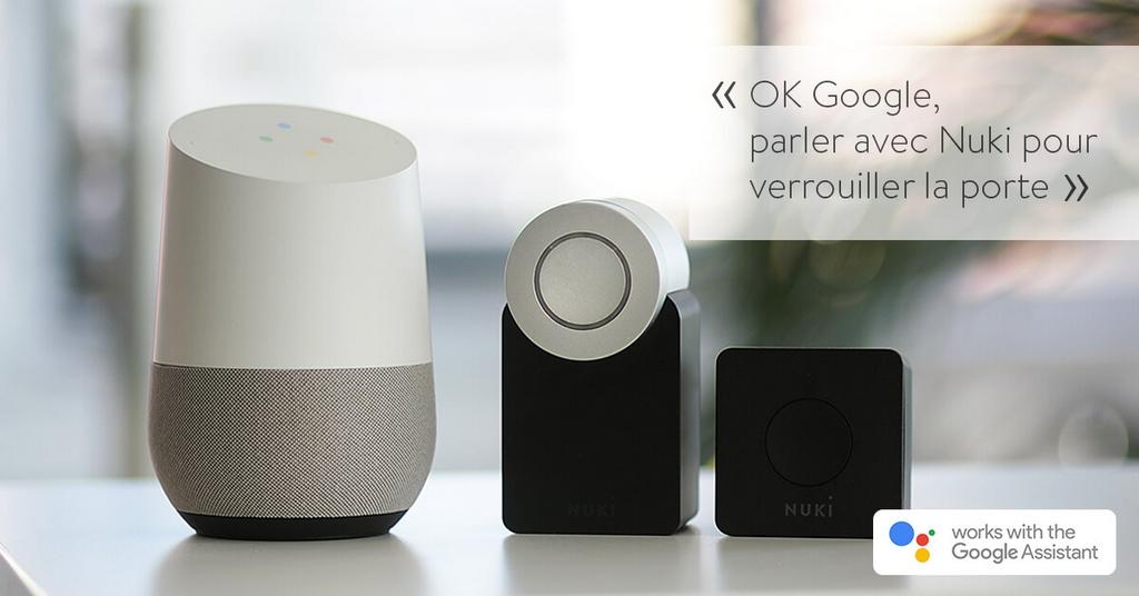 La serrure connectée Nuki devient compatible Google Home