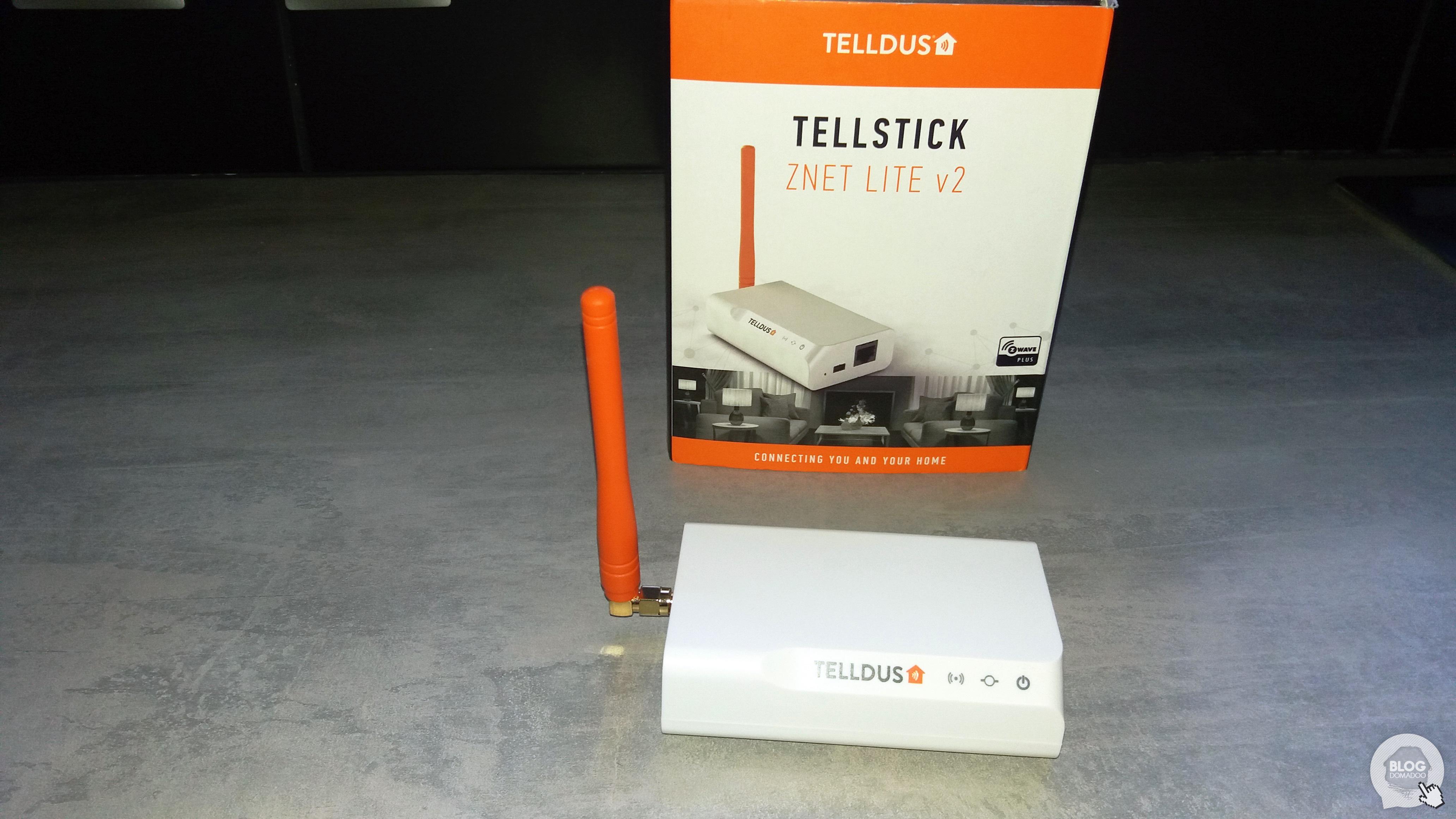 #Test de la box domotique TellStick Znet Lite V2 de Telldus