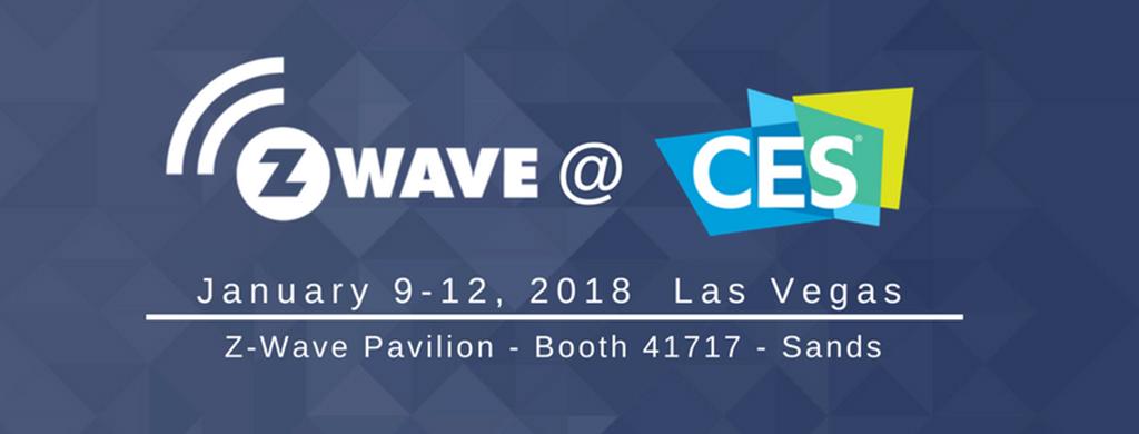Z Wave @ CES 2018