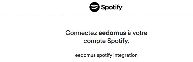 Spotify débarque sur la box domotique Eedomus ainsi que d'autres nouveautés !