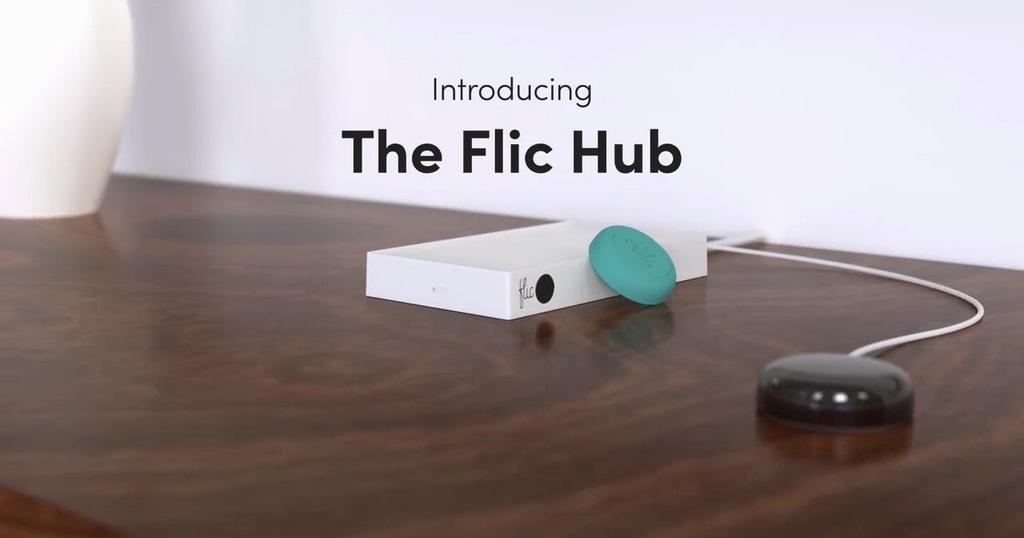 Le bouton Flic sera présent au #CES2018 avec son Hub