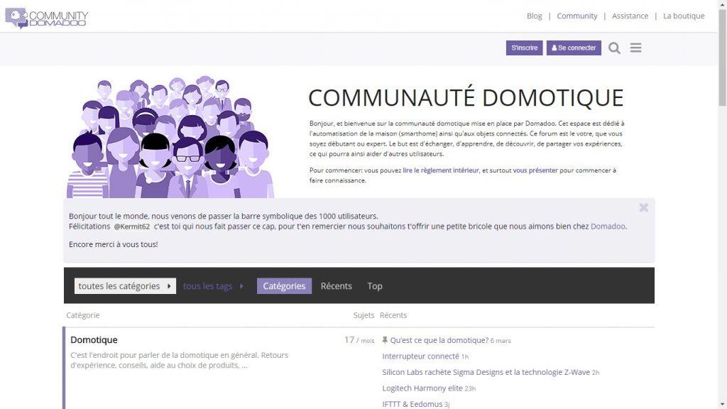 Communauté domotique de Domadoo