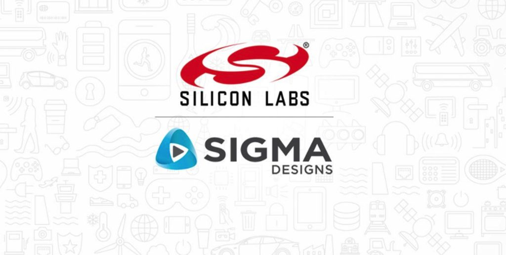 silicon labs sigma designs une