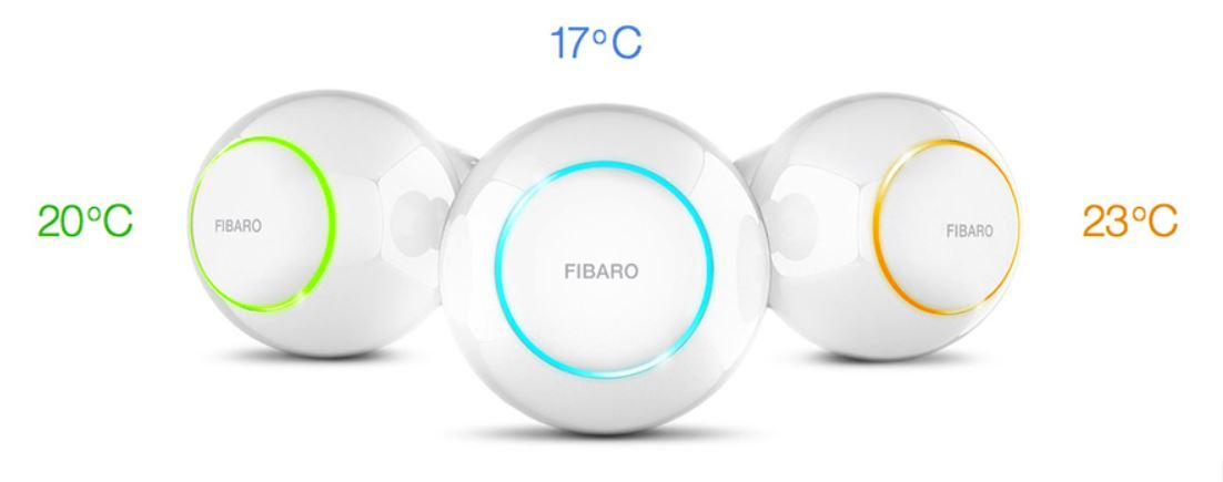 02Tête Thermostatique Fibaro