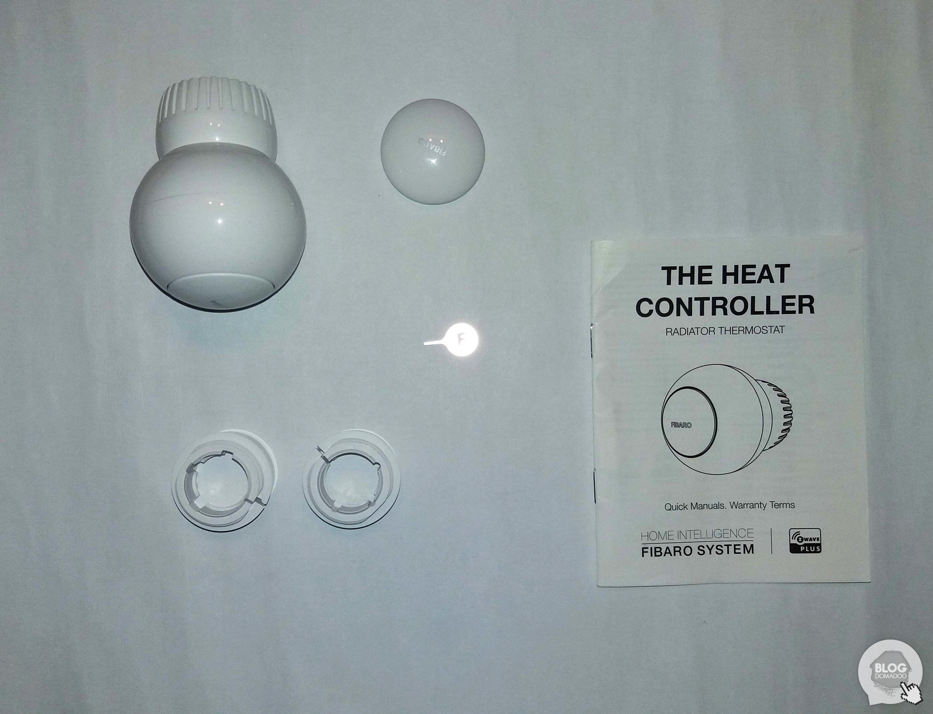 08Tête Thermostatique Fibaro