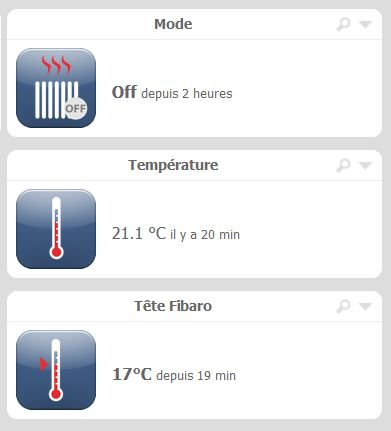 11Tête Thermostatique Fibaro