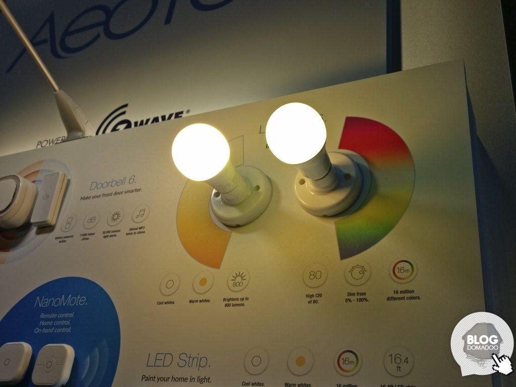 aeotec CES2018 bulbs