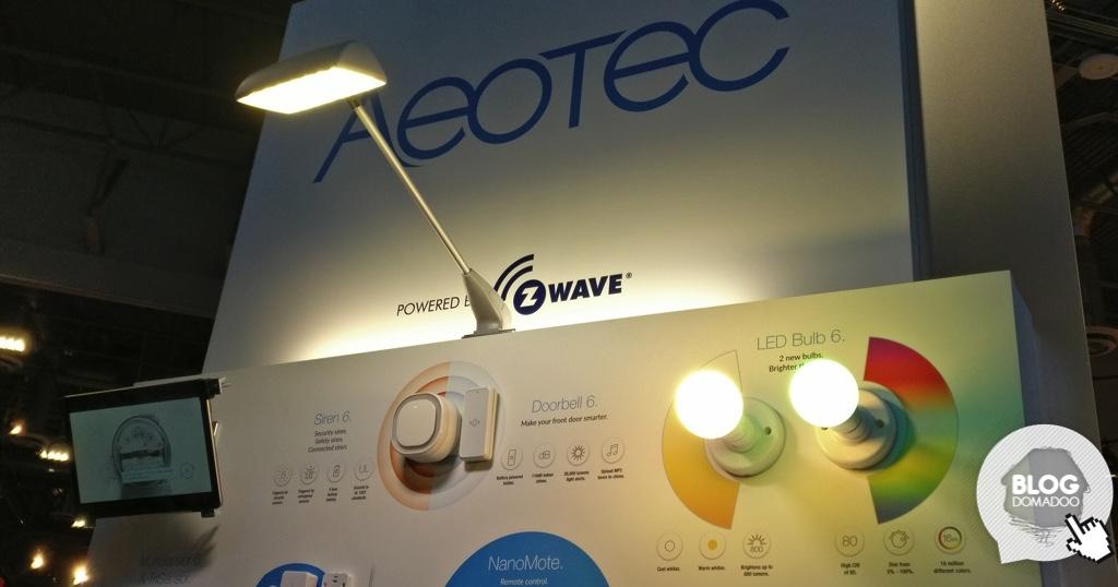 #CES2018 : Aeotec présente 6 nouveaux produits Z-Wave