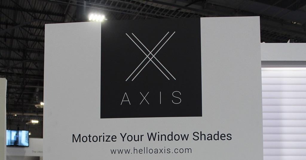Axis Gear motorise tous vos stores #CES2018