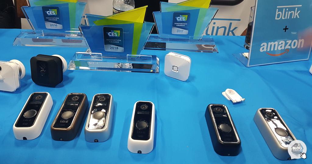 Blink reçoit un #CES2018 Innovation Award pour sa sonnette connectée