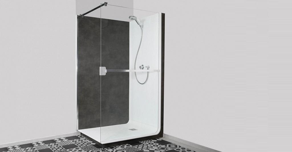 Elmer présente sa douche connectée