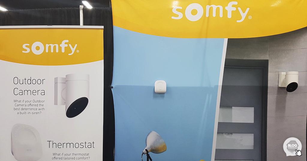 #CES2018 : Somfy annonce la Somfy Outdoor Camera